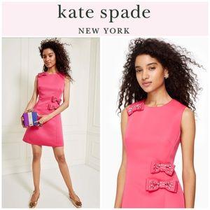 Kate Spade embellished bow A-Line dress 2